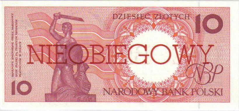10 złotych 1990 – Warszawa