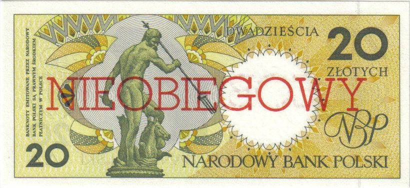 20 złotych 1990 – Gdańsk